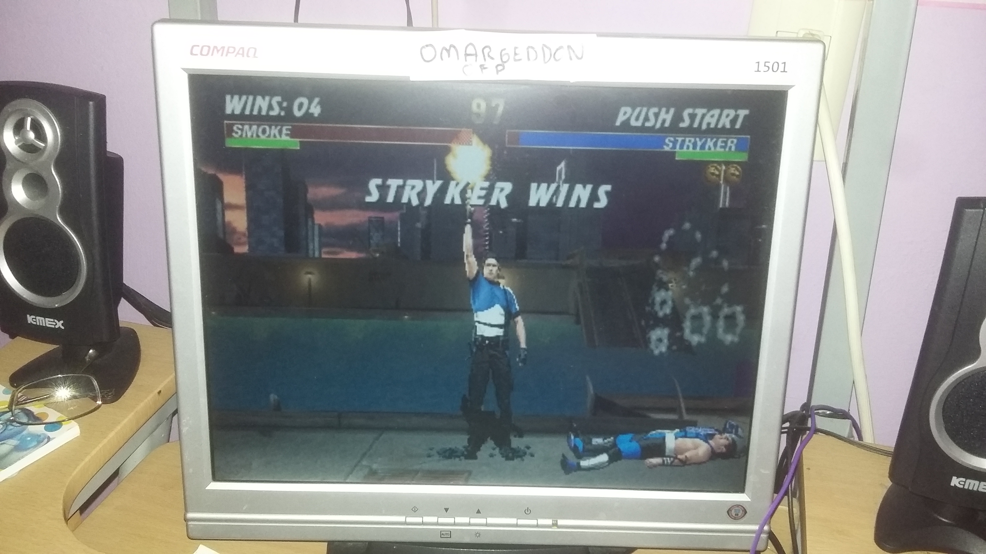 Ultimate Mortal Kombat 3 [Win Streak] 4 points