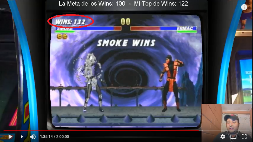 Ultimate Mortal Kombat 3 [Win Streak] 132 points