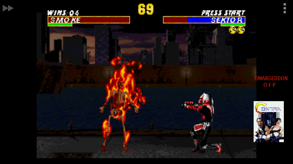 omargeddon: Ultimate Mortal Kombat [Easiest] [Win Streak] (Sega Genesis / MegaDrive Emulated) 4 points on 2017-09-16 20:16:33