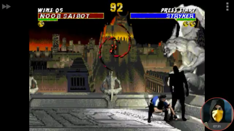 omargeddon: Ultimate Mortal Kombat [Easy] [Win Streak] (Sega Genesis / MegaDrive Emulated) 5 points on 2018-02-07 10:17:41