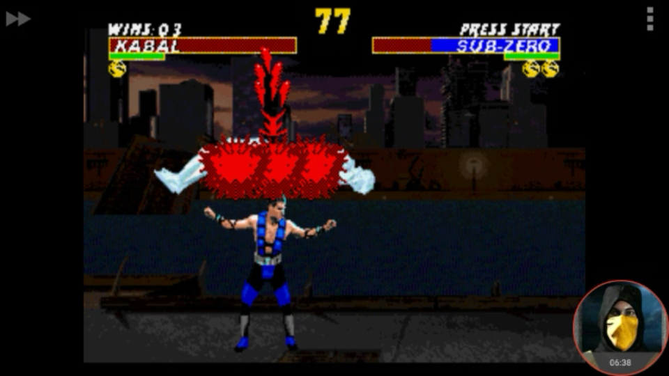 omargeddon: Ultimate Mortal Kombat [Hard] [Win Streak] (Sega Genesis / MegaDrive Emulated) 3 points on 2018-02-06 23:23:36