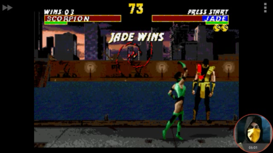 omargeddon: Ultimate Mortal Kombat [Hardest] [Win Streak] (Sega Genesis / MegaDrive Emulated) 3 points on 2018-02-06 23:21:30