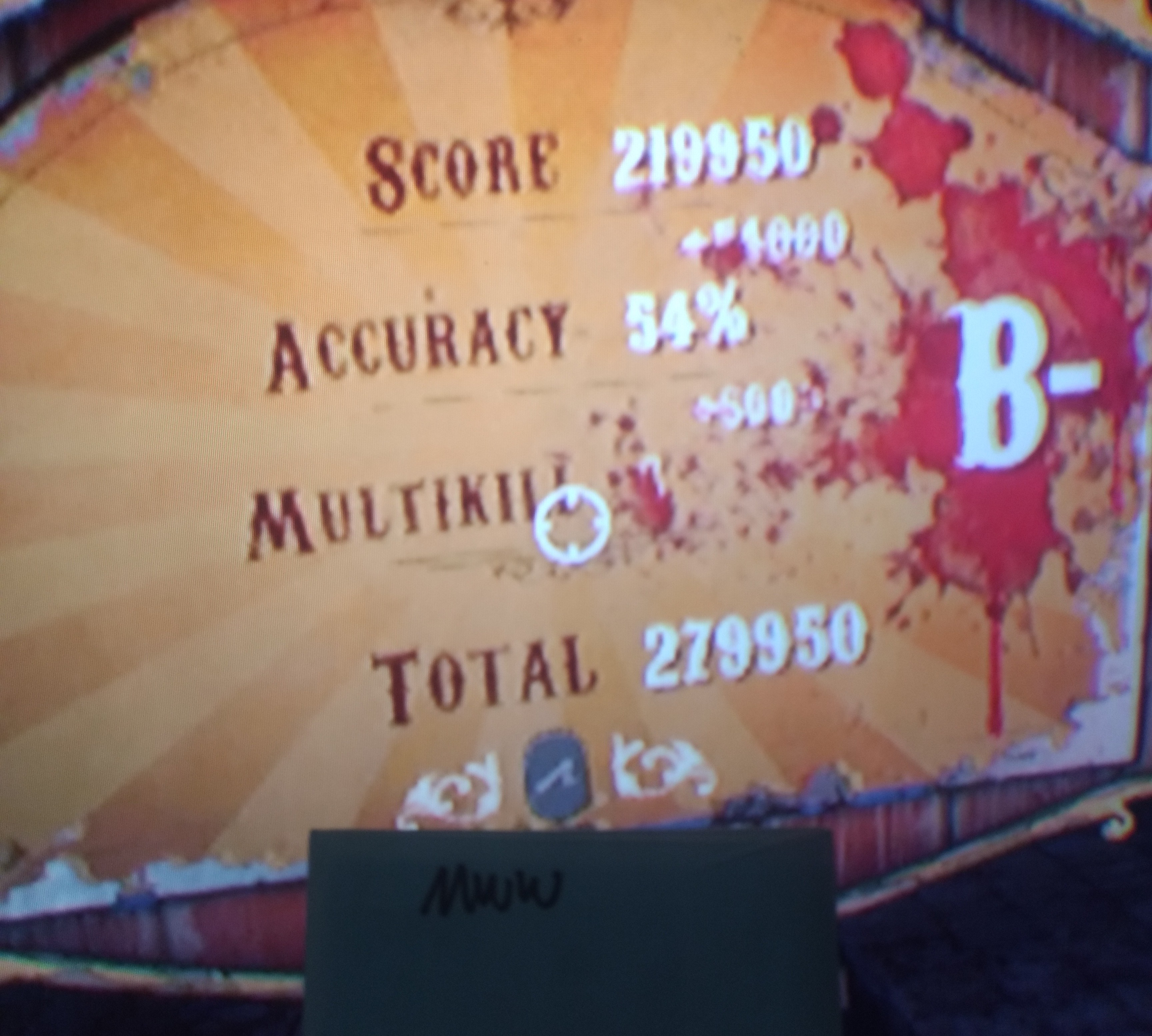 D3fk0nZ3r0: Until Dawn Rush Of Blood: Mines Of Death [Easy] (Playstation 4) 279,950 points on 2018-09-13 18:36:56