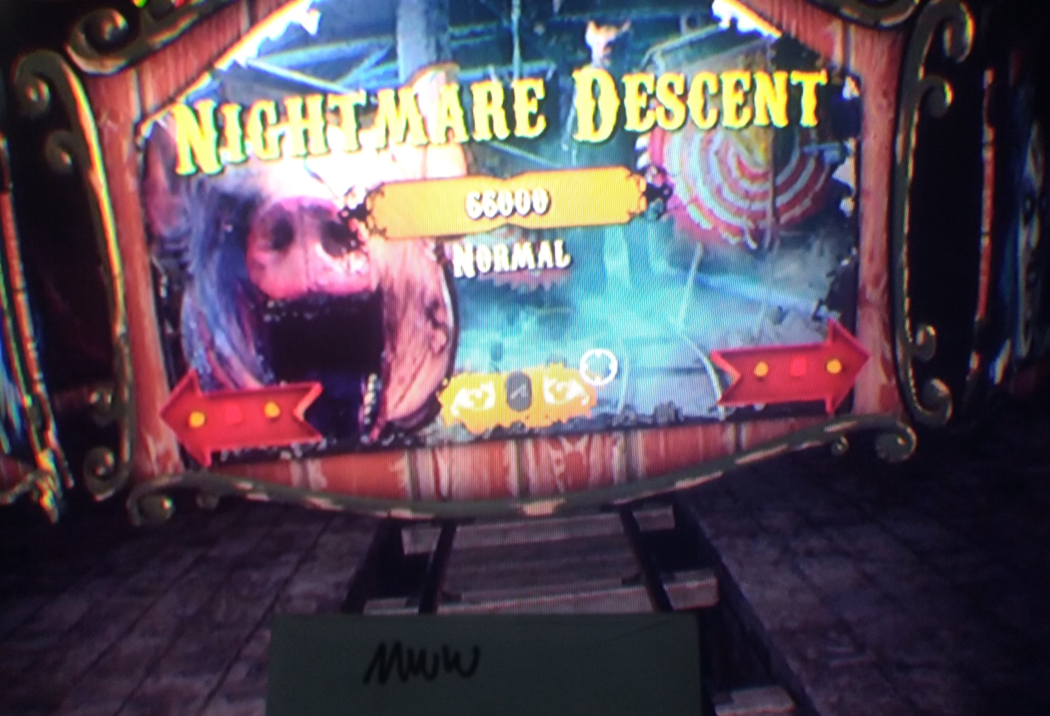 Until Dawn Rush Of Blood: Nightmare Descent [Normal] 66,000 points