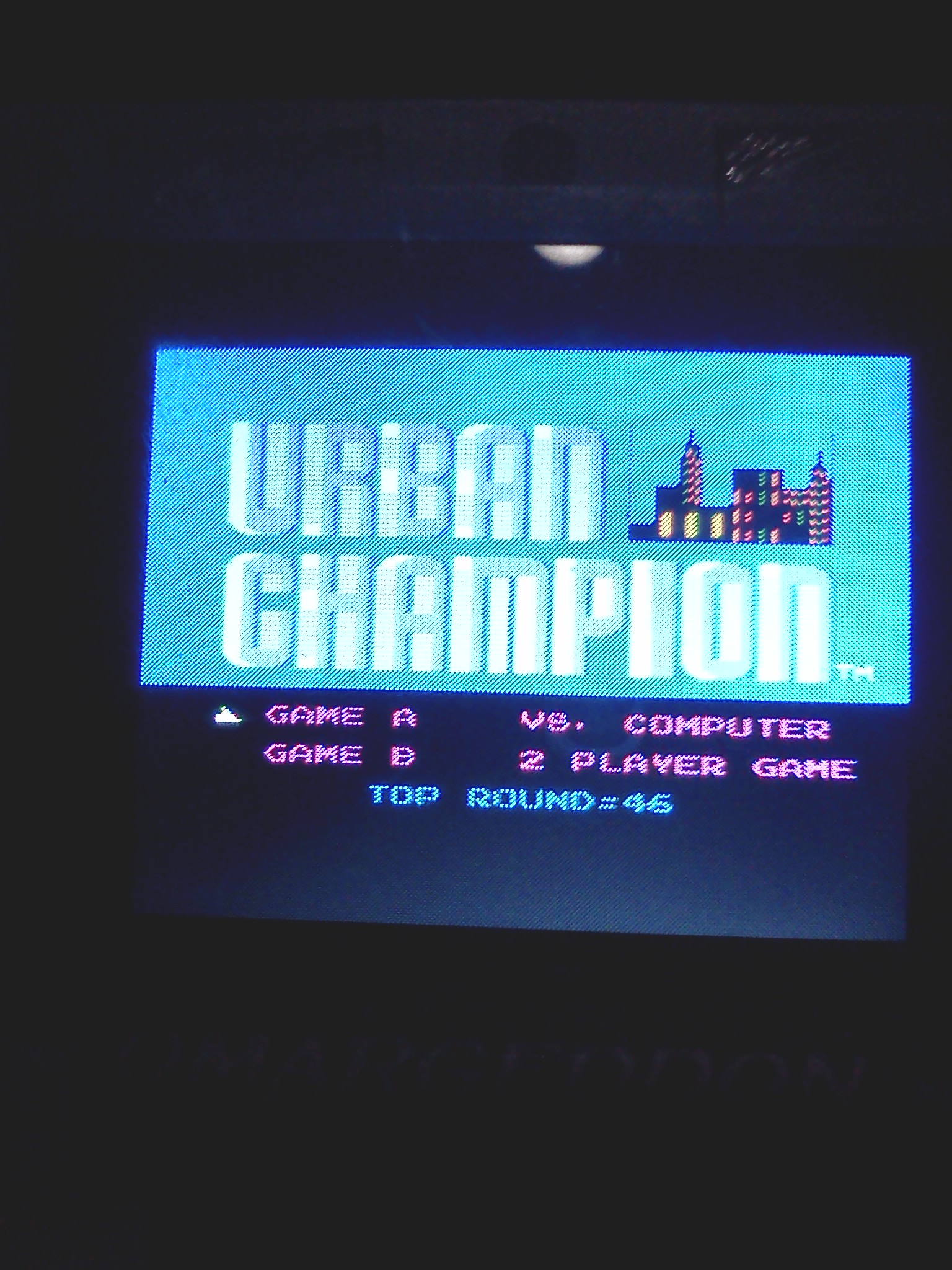 Urban Champion: Game A 46 points
