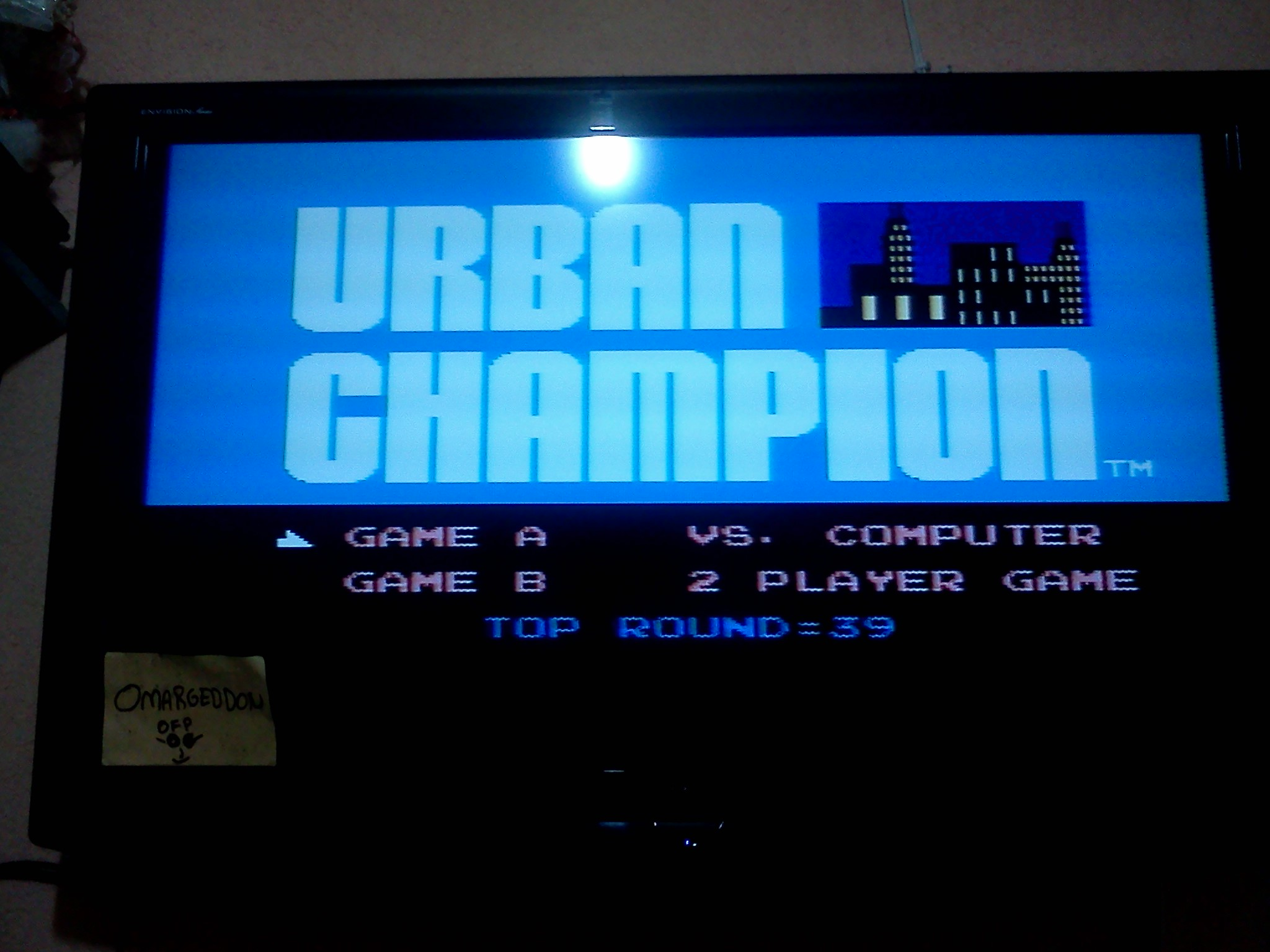 Urban Champion: Game A 39 points