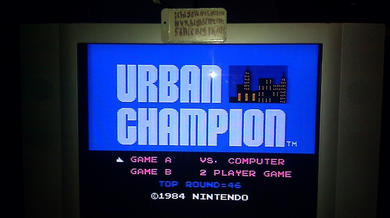 ichigokurosaki1991: Urban Champion: Game A (NES/Famicom) 46 points on 2016-08-10 02:39:06