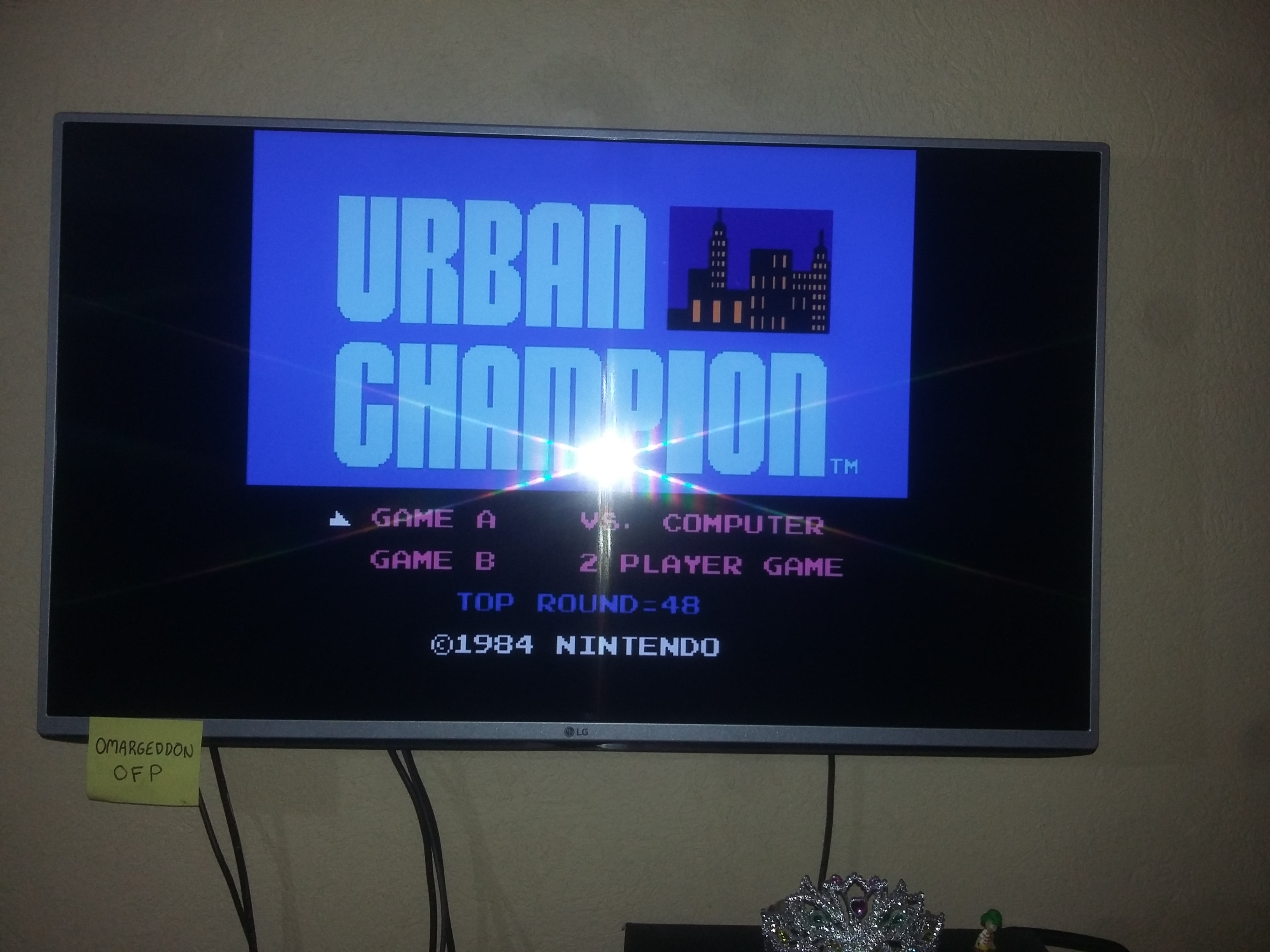 Urban Champion: Game A 48 points