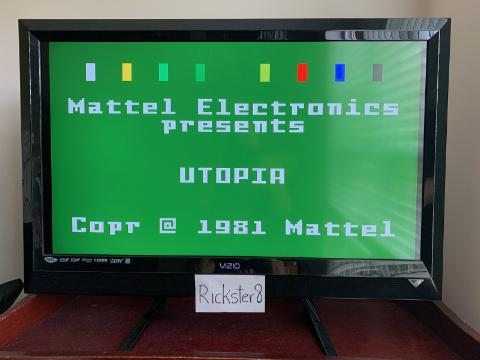 Rickster8: Utopia [Term: 30 / Time: 30] (Intellivision Emulated) 2,284 points on 2020-09-11 12:58:14
