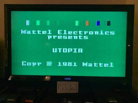 Rickster8: Utopia [Term: 30 / Time: 30] (Intellivision) 2,308 points on 2020-12-29 08:54:40