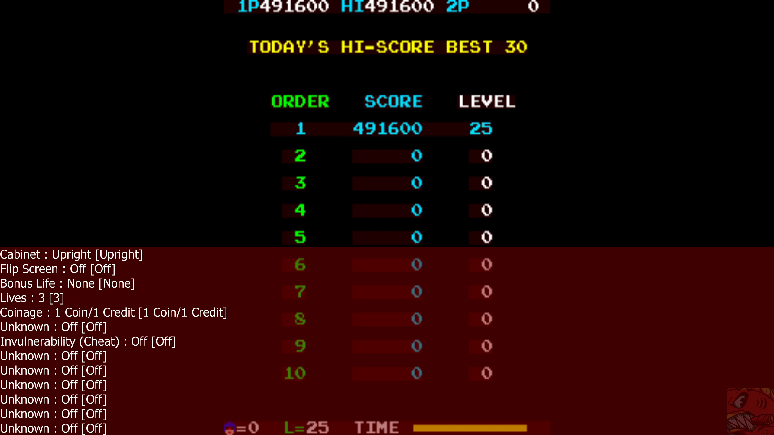 ILLSeaBass: Van-Van Car [vanvan] (Arcade Emulated / M.A.M.E.) 491,600 points on 2020-07-23 23:52:04