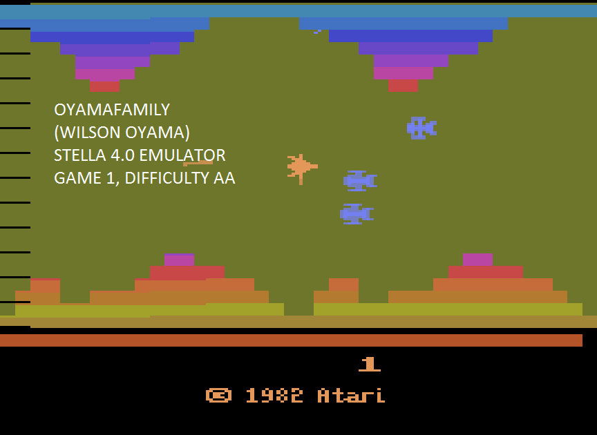 oyamafamily: Vanguard (Atari 2600 Emulated Expert/A Mode) 52,230 points on 2015-08-26 20:53:35