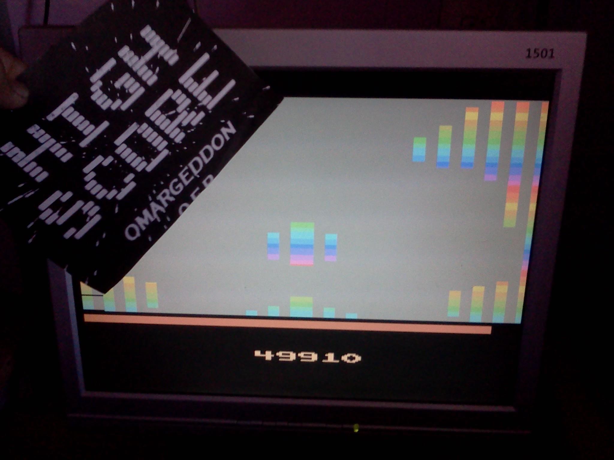 omargeddon: Vanguard (Atari 2600 Emulated Novice/B Mode) 49,910 points on 2016-08-27 12:49:43