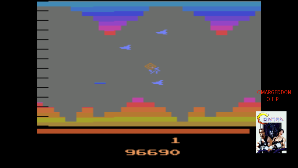 omargeddon: Vanguard (Atari 2600 Emulated Novice/B Mode) 96,690 points on 2017-10-03 17:52:27