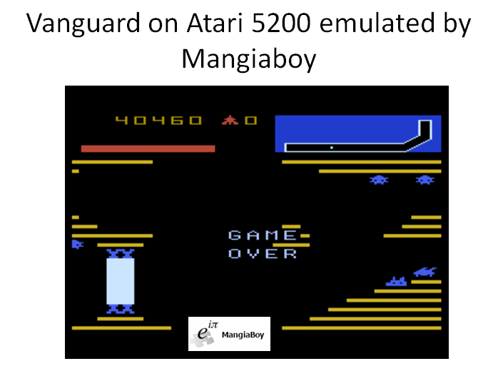 MangiaBoy: Vanguard (Atari 5200 Emulated) 40,460 points on 2016-03-28 14:25:46