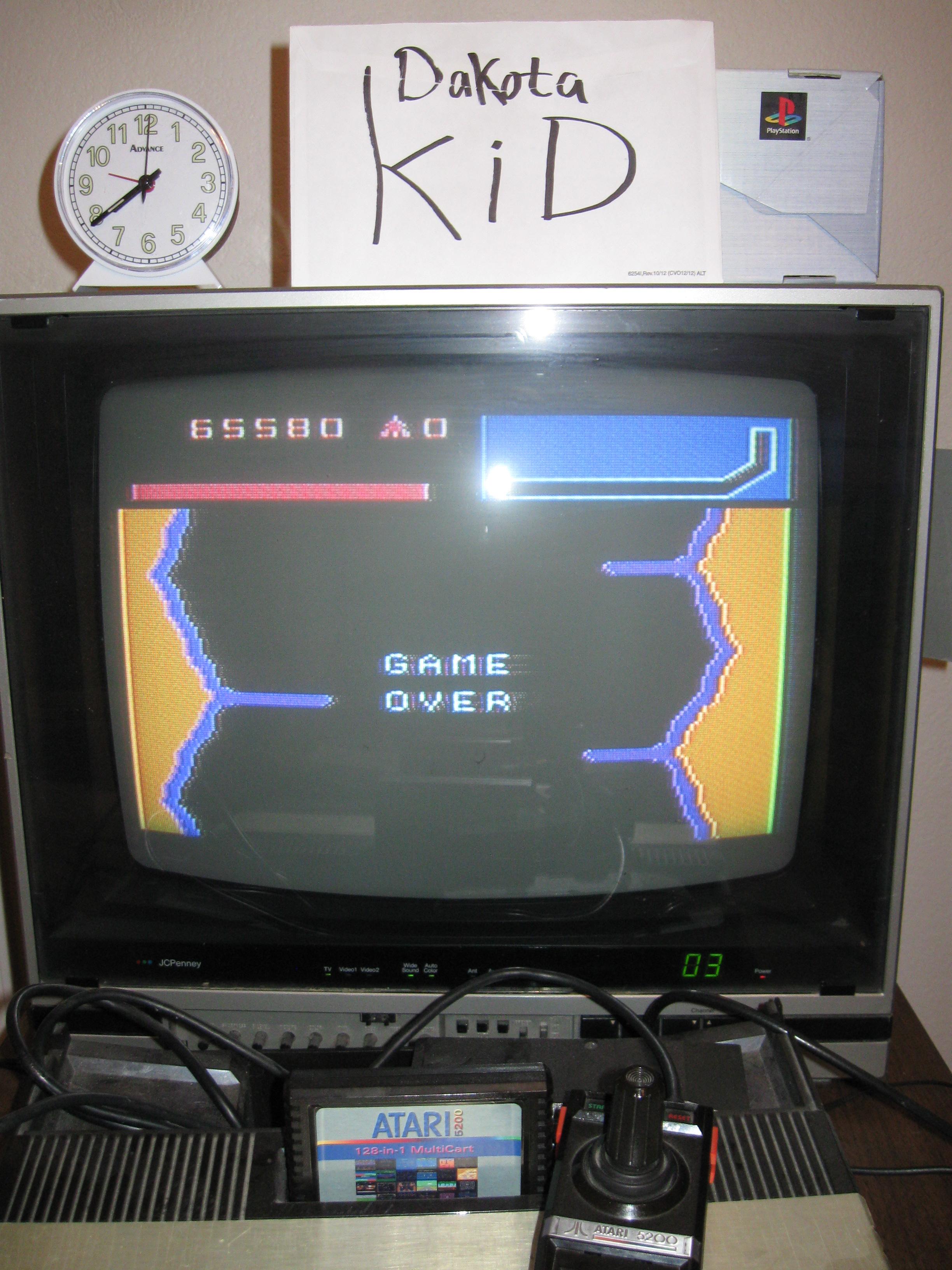 DakotaKid: Vanguard (Atari 5200) 65,580 points on 2016-04-13 18:37:51
