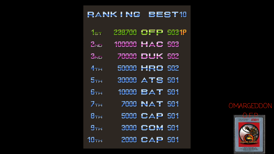 omargeddon: Varth: Operation Thunderstorm [varth] (Arcade Emulated / M.A.M.E.) 238,700 points on 2017-04-23 17:36:59