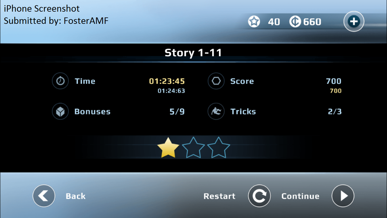 FosterAMF: Vector: Classic Mode: Time Trial [Downtown: 1-11] (iOS) 0:01:23.45 points on 2015-07-26 14:34:51