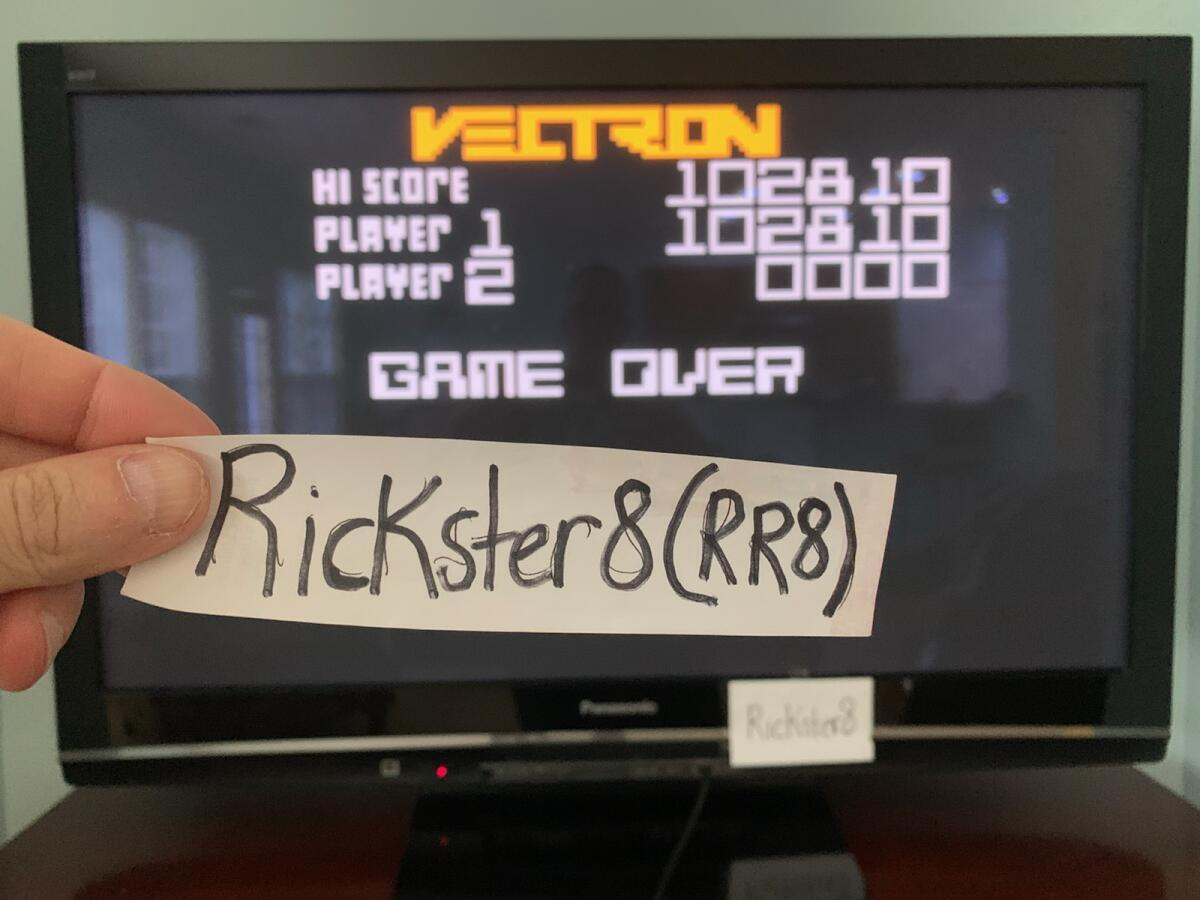 Rickster8: Vectron (Intellivision Emulated) 102,810 points on 2020-11-22 15:23:00