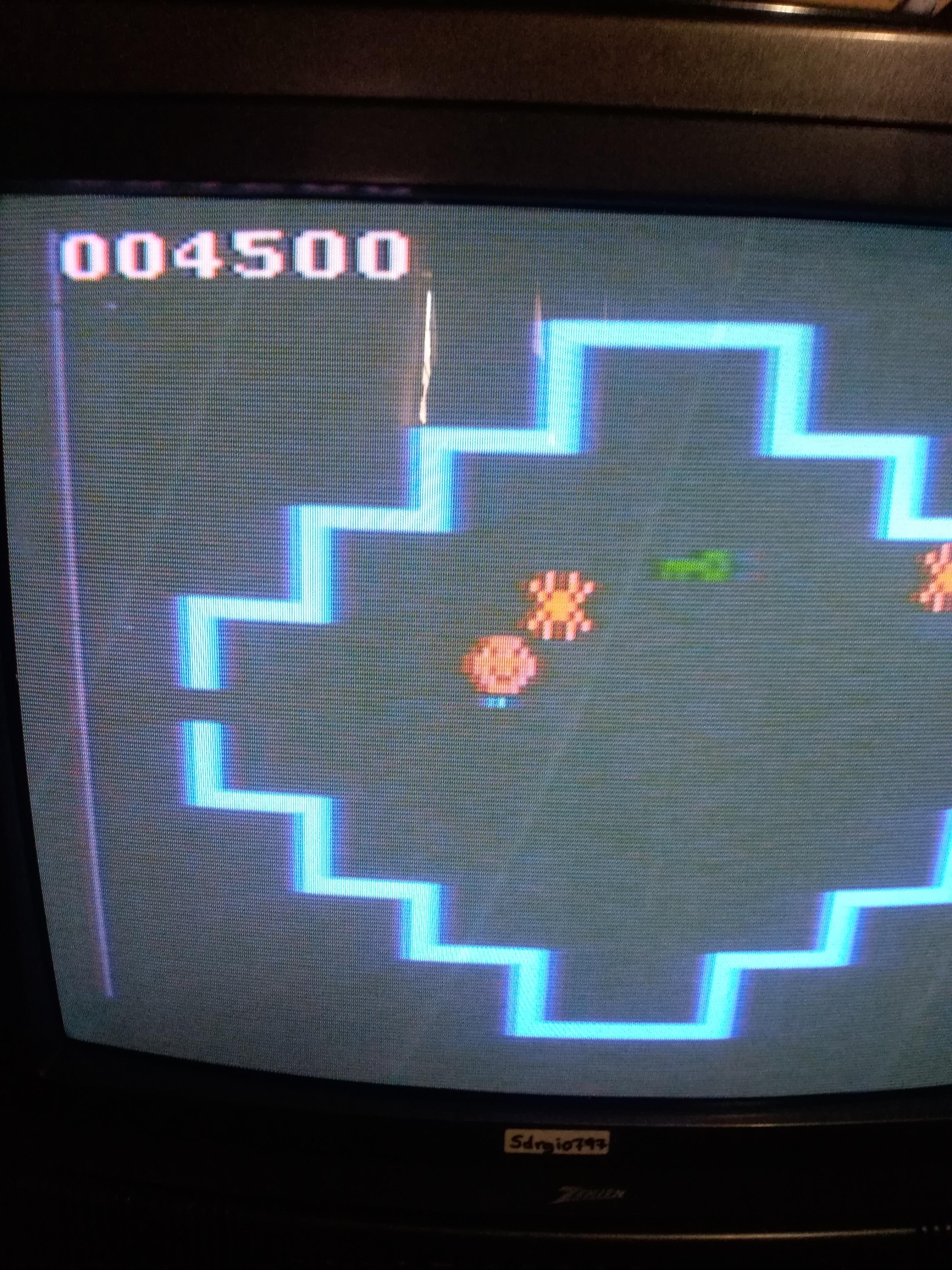Sdrgio797: Venture (Atari 2600 Expert/A) 4,500 points on 2020-06-26 21:26:25