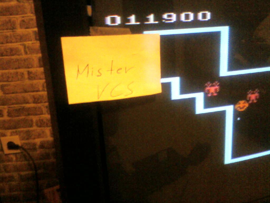MisterVCS: Venture (Atari 2600 Novice/B) 11,900 points on 2016-04-15 16:12:13