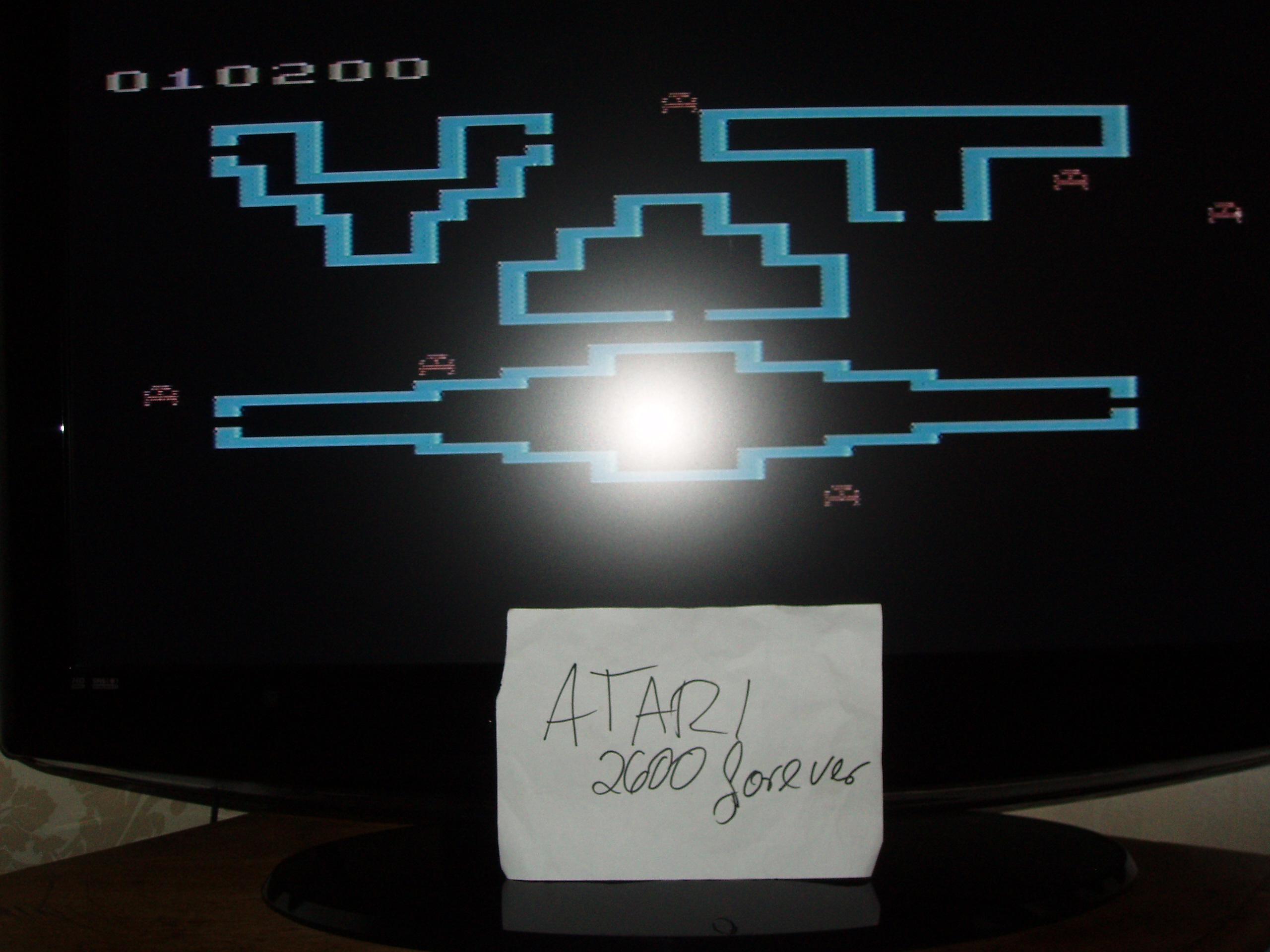 atari2600forever: Venture (Atari 2600 Novice/B) 10,200 points on 2019-01-10 03:21:35