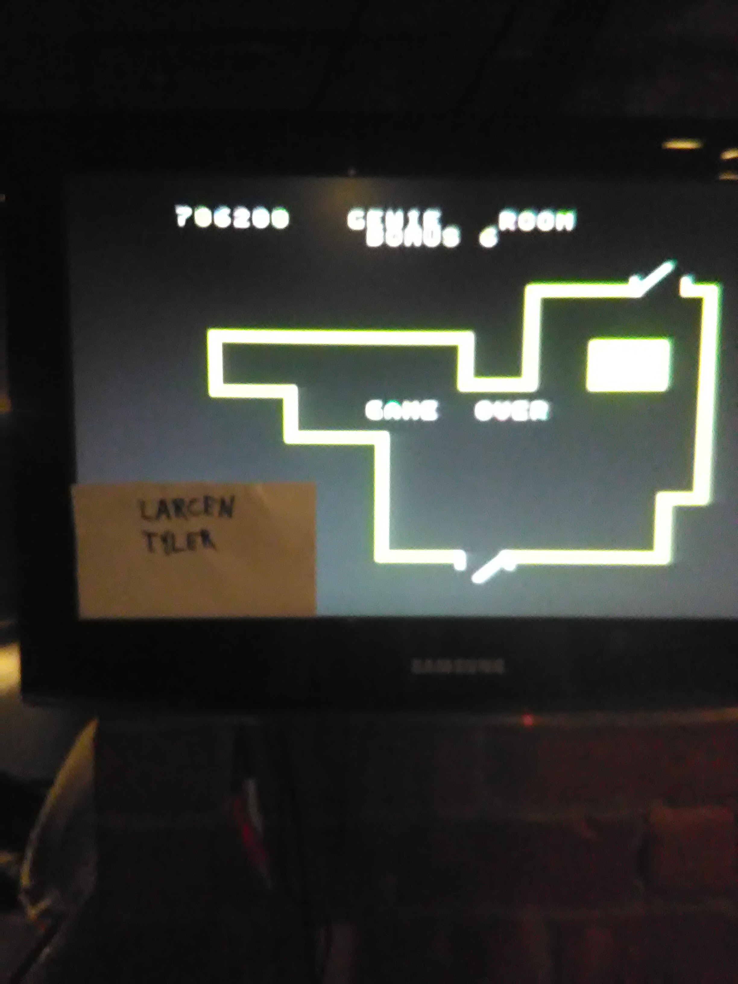 LarcenTyler: Venture (Colecovision Flashback) 706,200 points on 2016-07-22 18:37:49