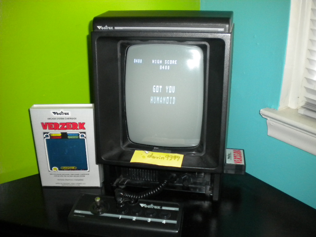 darrin9999: Verzerk (Vectrex) 8,400 points on 2016-09-22 18:58:24
