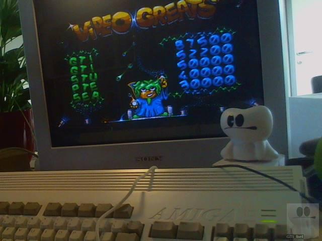 GTibel: Video Kid (Amiga) 87,500 points on 2018-01-29 07:37:28