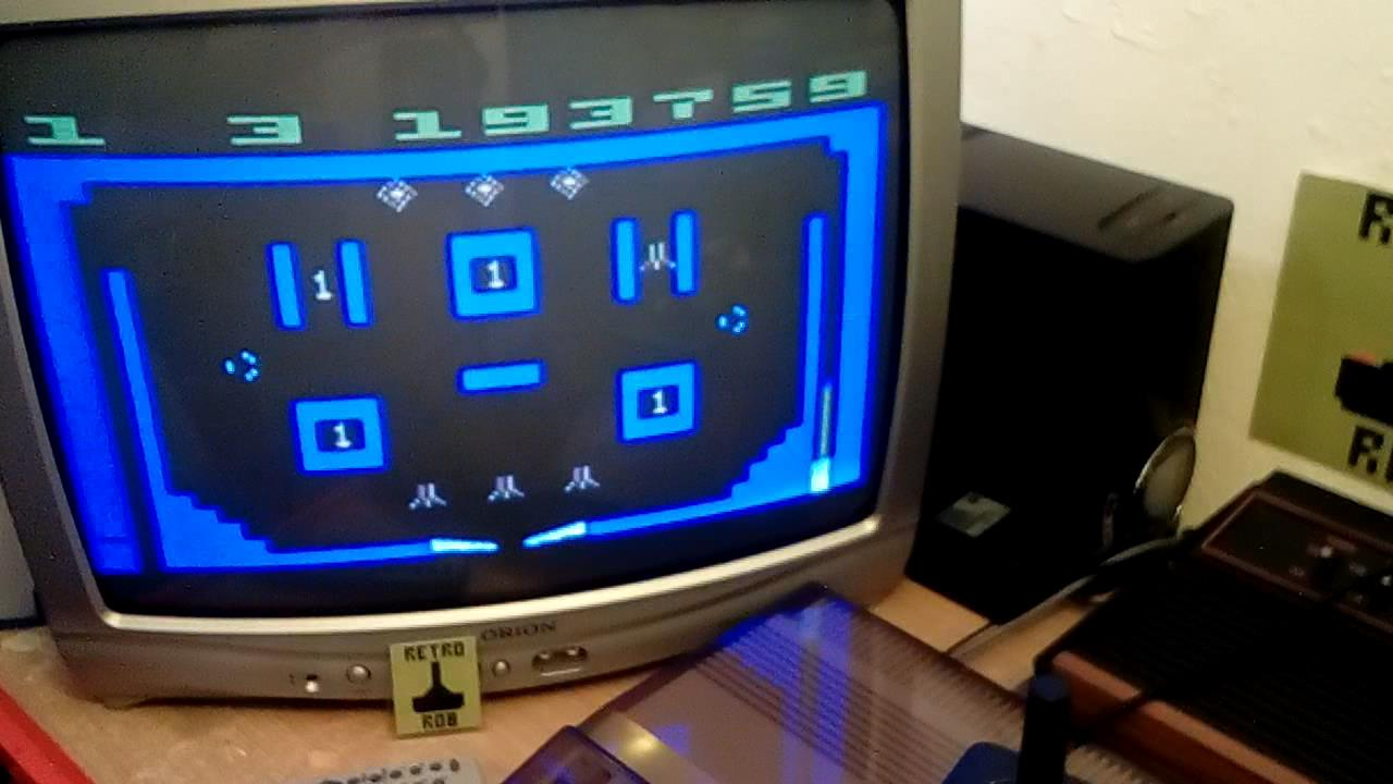 RetroRob: Video Pinball: Game 3 (Atari 2600 Novice/B) 193,759 points on 2019-08-14 13:35:01
