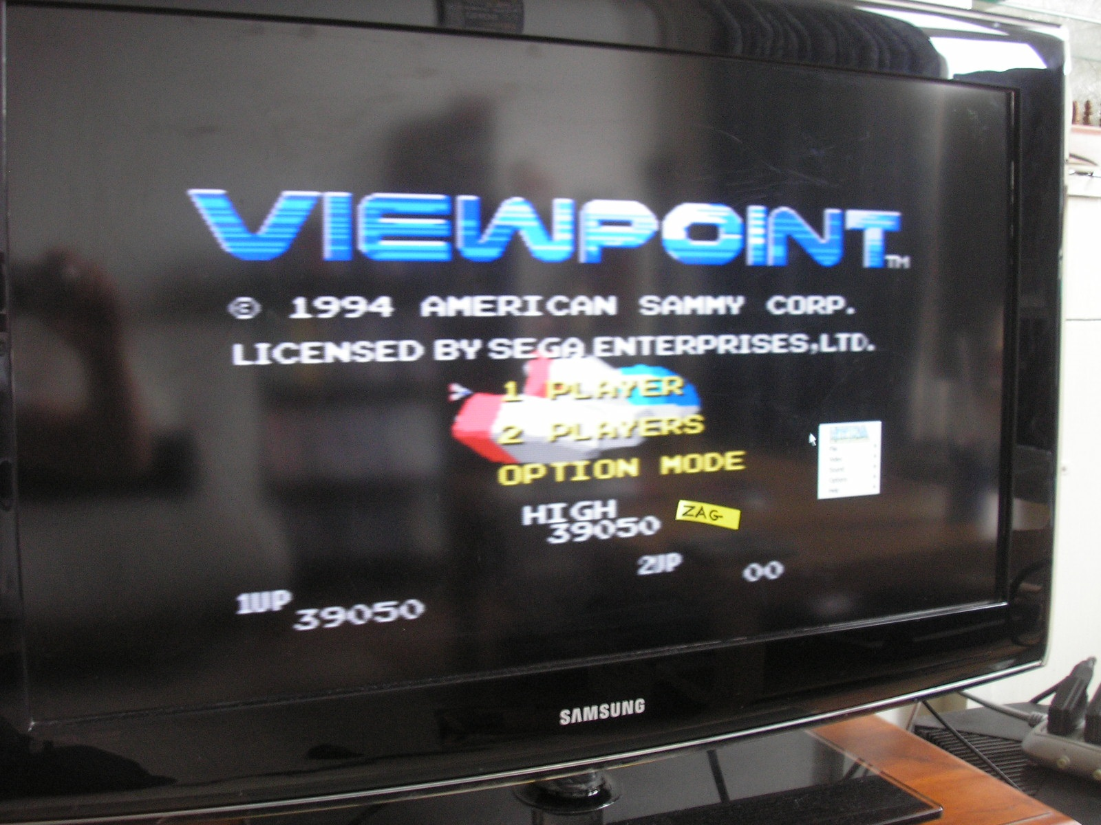 Zagrebista: Viewpoint (Sega Genesis / MegaDrive Emulated) 39,050 points on 2016-07-18 09:26:19