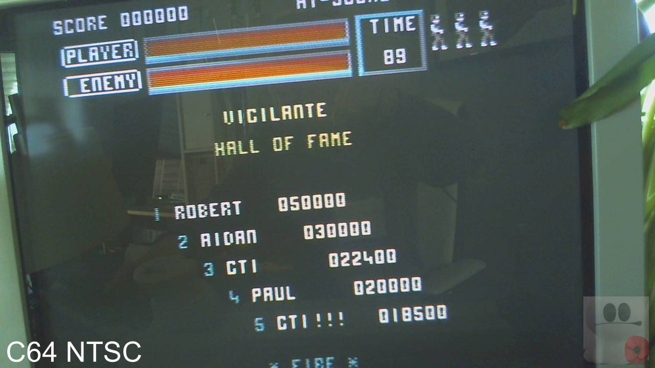 Vigilante 22,400 points