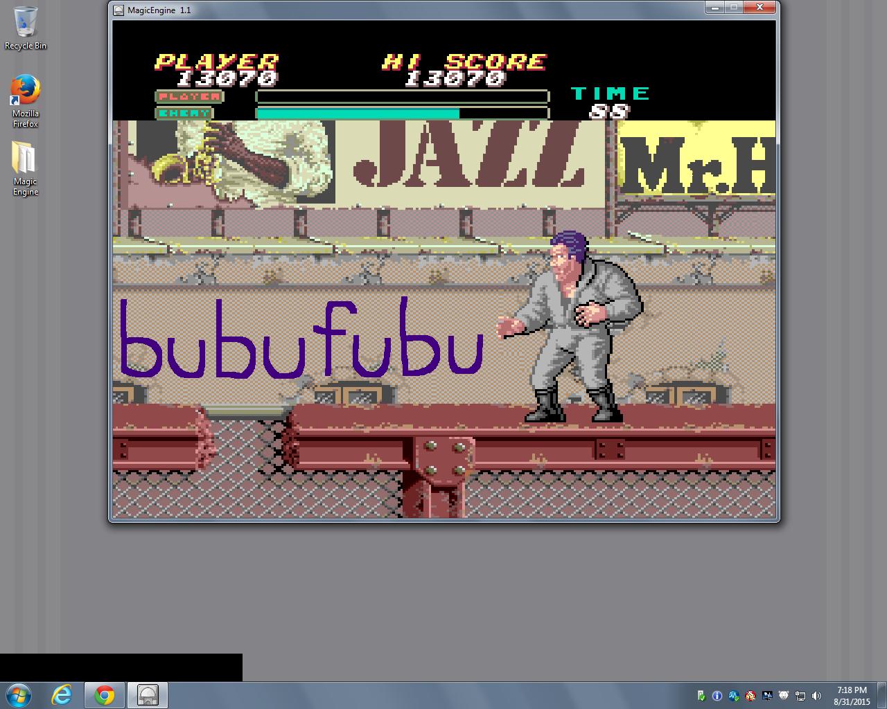bubufubu: Vigilante (TurboGrafx-16/PC Engine Emulated) 13,070 points on 2015-11-01 09:32:17
