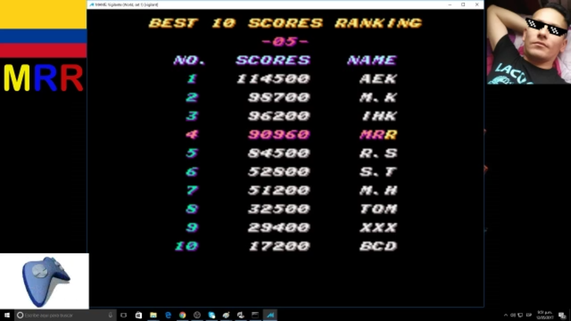 AmoKronos: Vigilante [vigilant] (Arcade Emulated / M.A.M.E.) 90,960 points on 2017-05-12 21:54:36