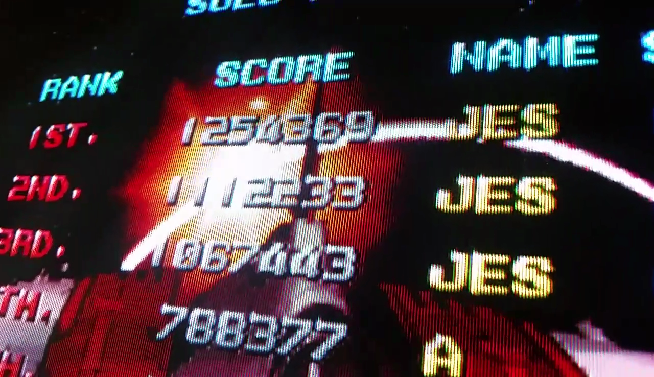 JES: Viper Phase 1 New Version [viprp1] (Arcade Emulated / M.A.M.E.) 1,254,369 points on 2017-05-26 22:26:01