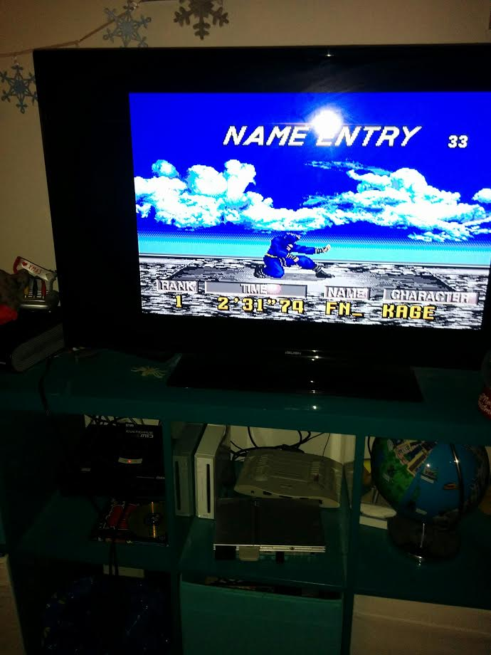 mechafatnick: Virtua Fighter 2 (Sega Genesis / MegaDrive) 0:02:31.74 points on 2016-12-17 16:07:37