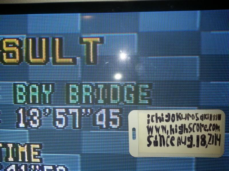 Virtua Racing: Free Run: Bay Bridge [20 Laps] time of 0:13:57.45
