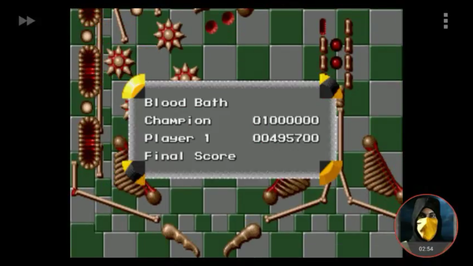 omargeddon: Virtual Pinball: Blood Bath (Sega Genesis / MegaDrive Emulated) 495,700 points on 2018-08-23 11:16:14