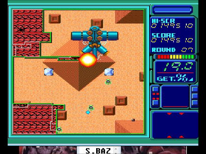 S.BAZ: Volfied (TurboGrafx-16/PC Engine Emulated) 149,510 points on 2016-07-05 16:27:05
