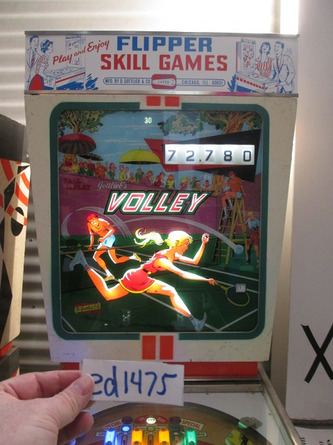 ed1475: Volley (Pinball: 3 Balls) 72,780 points on 2017-01-21 17:43:37