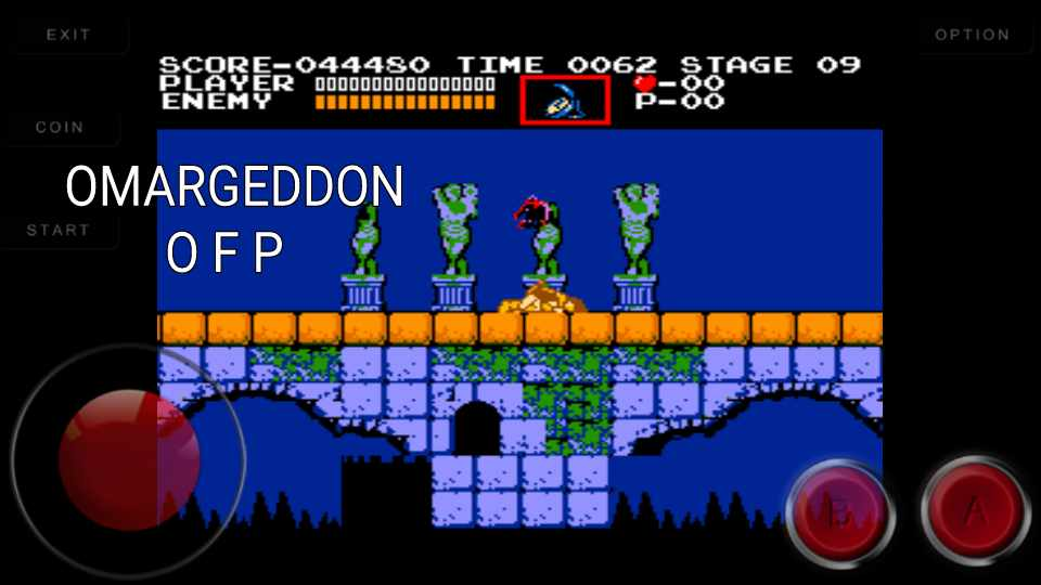 omargeddon: Vs. Castlevania (Arcade Emulated / M.A.M.E.) 44,480 points on 2016-11-05 00:44:02