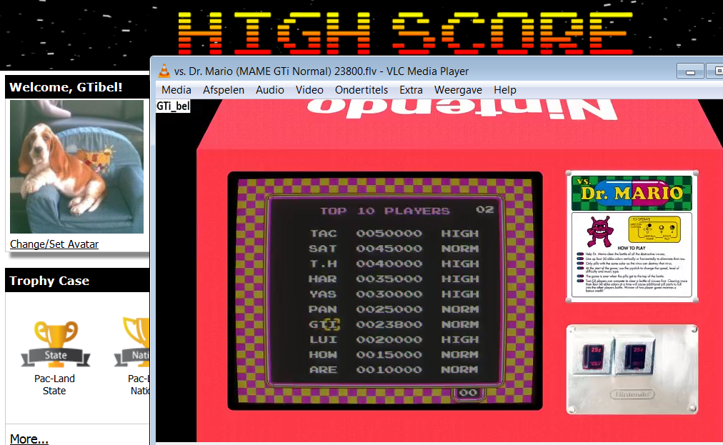 Vs. Dr. Mario [Speed: Normal] 23,800 points