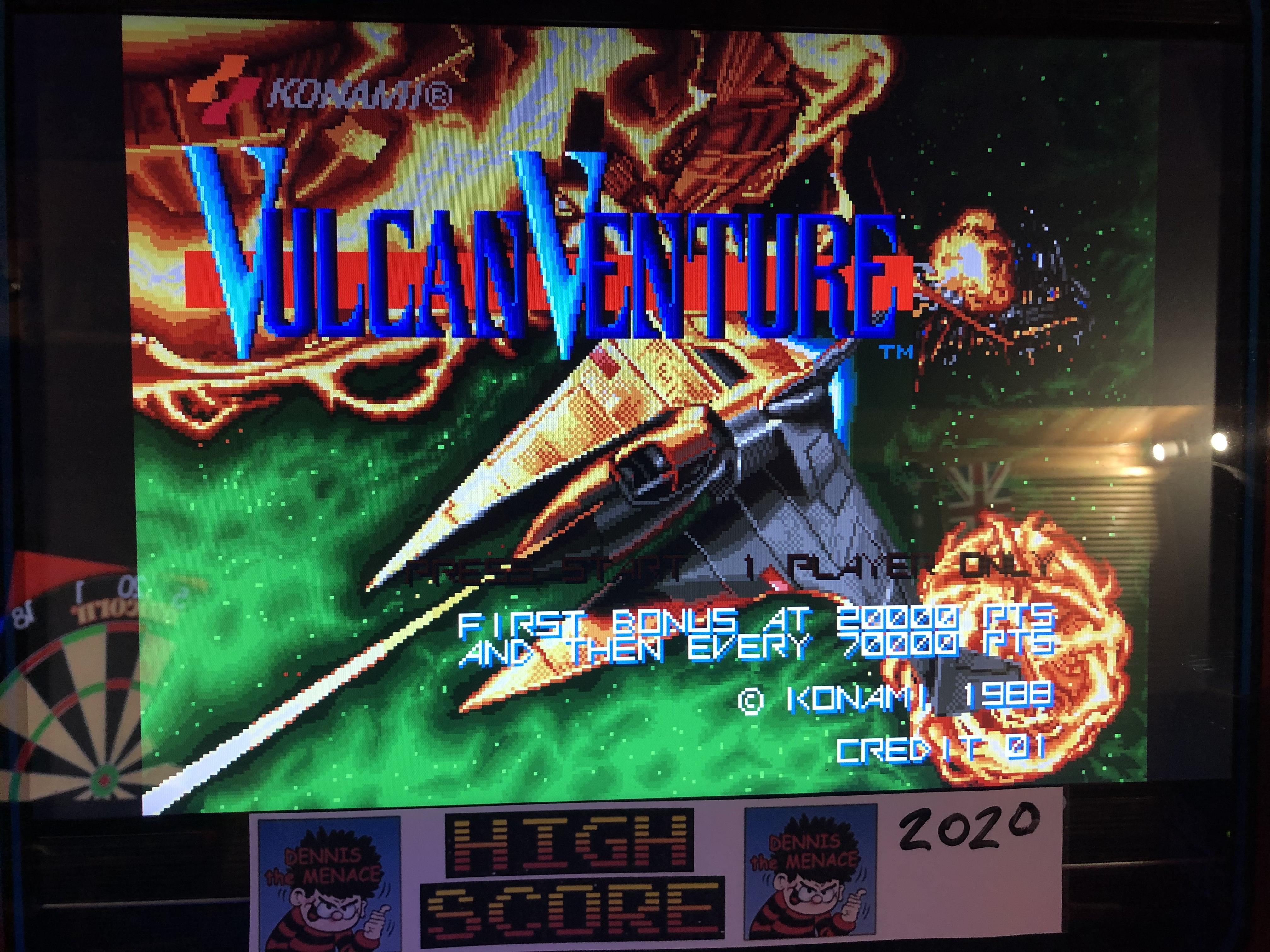 Vulcan Venture [vulcan] 124,000 points
