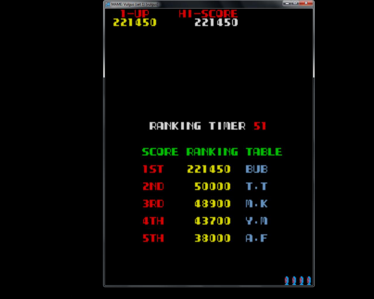 Vulgus [vulgus] 221,450 points