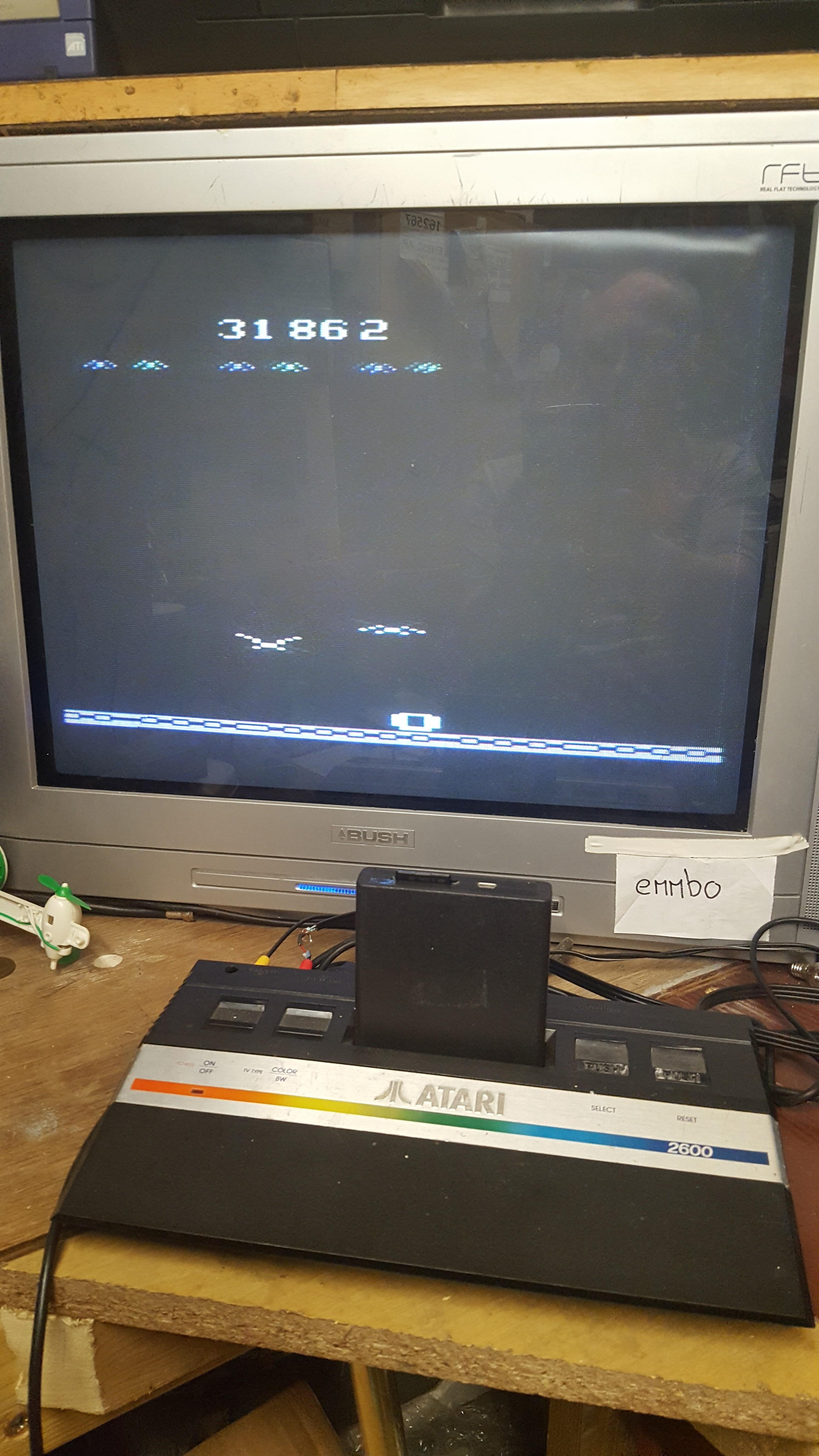 emmbo: Vulture Attack / Condor Attack (Atari 2600 Novice/B) 31,862 points on 2017-05-09 05:54:35