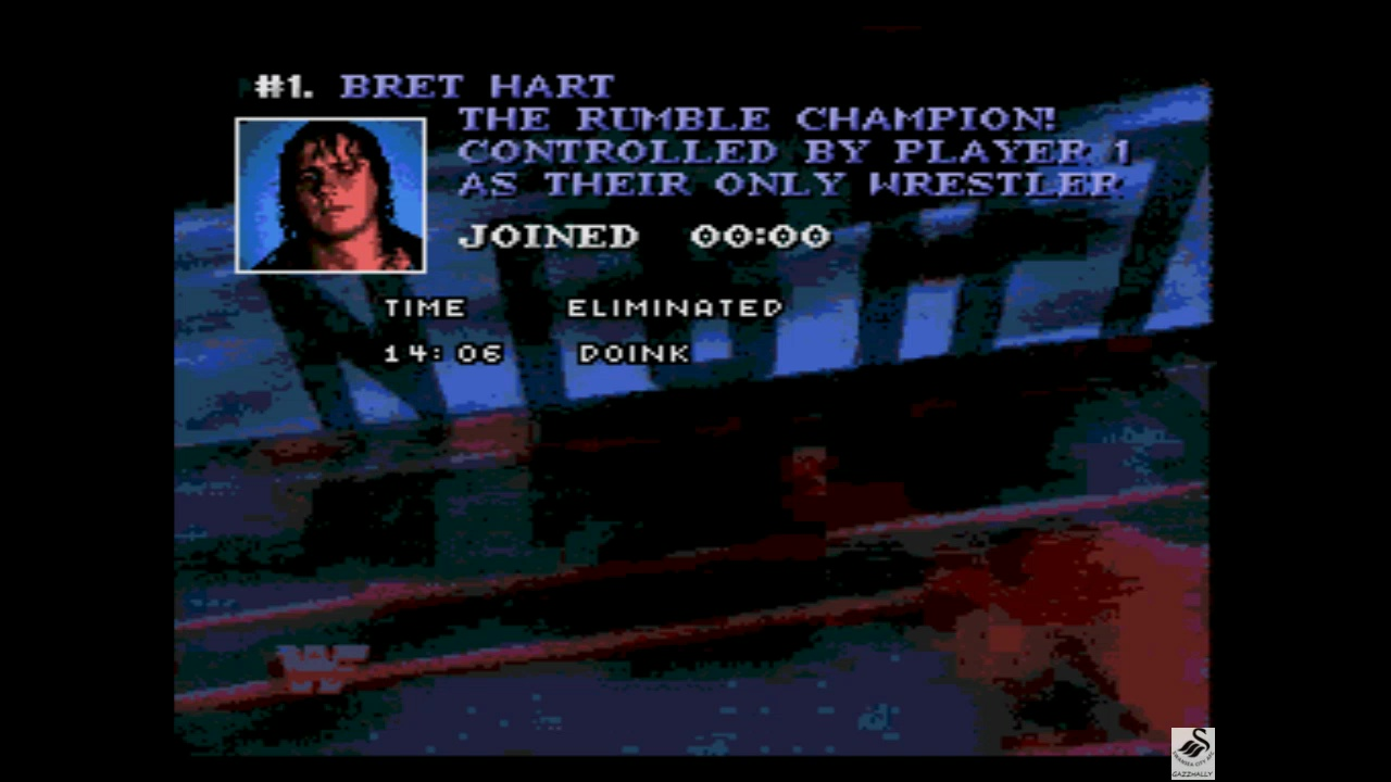 gazzhally: WWF Raw [Royal Rumble] [Longest Time in the Royal Rumble] (Sega Genesis / MegaDrive Emulated) 0:14:06 points on 2019-05-29 15:46:55