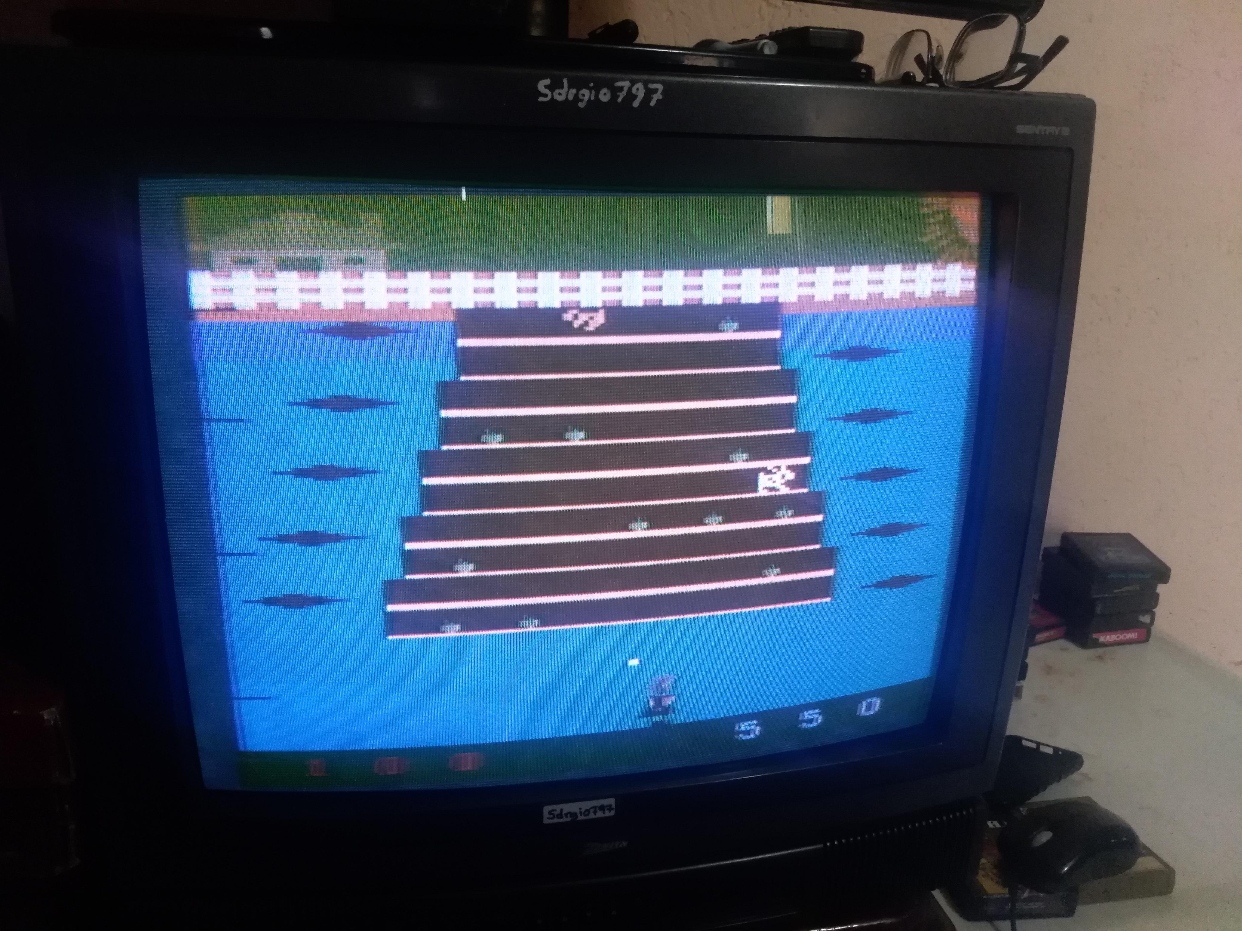 Sdrgio797: Wabbit: Game 5 (Atari 2600 Expert/A) 550 points on 2020-07-05 00:52:30