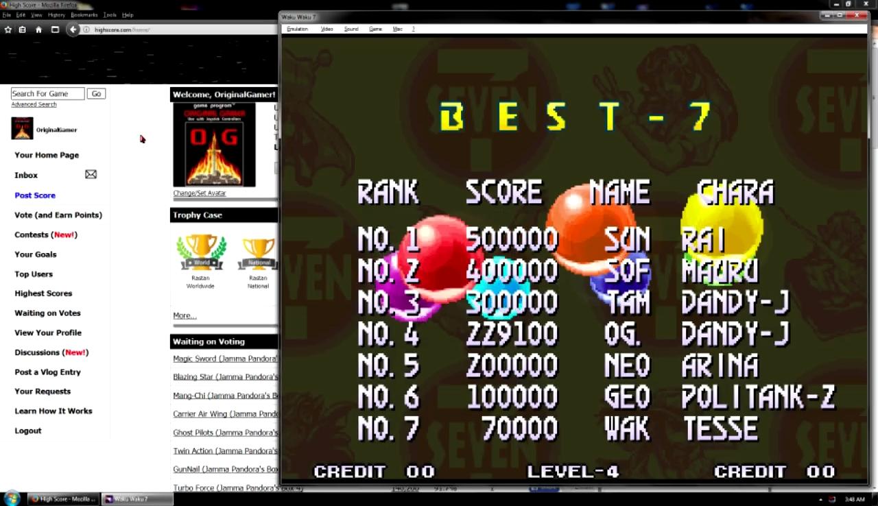 OriginalGamer: Waku Waku 7 (Neo Geo Emulated) 229,100 points on 2017-10-29 23:17:01