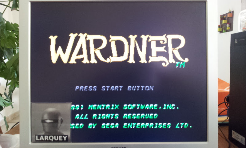 Larquey: Wardner (Sega Genesis / MegaDrive Emulated) 10,600 points on 2017-04-25 05:39:17