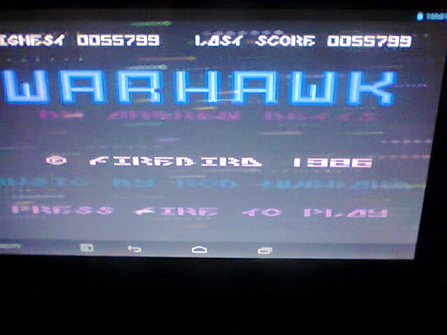 Warhawk 55,799 points